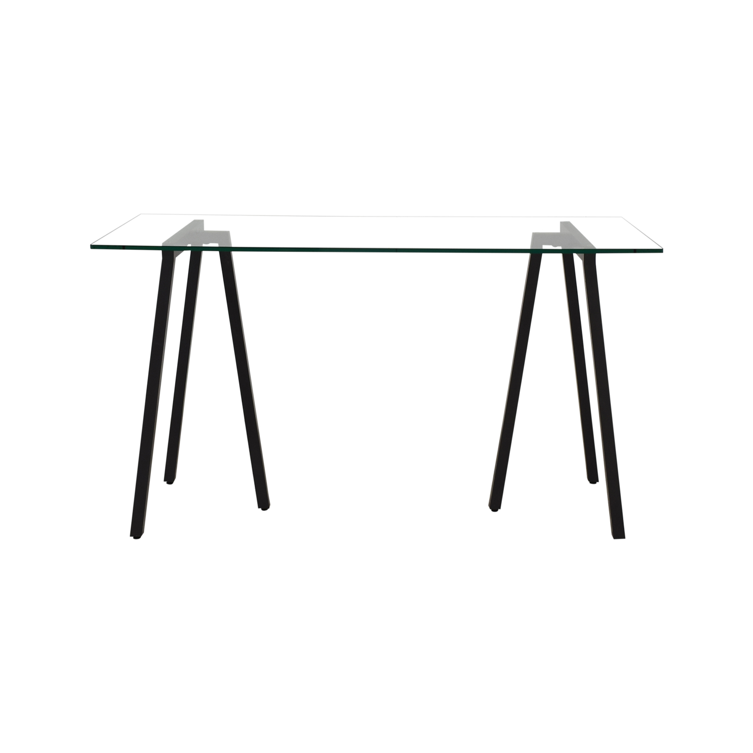 West Elm West Elm Glass Desk for sale