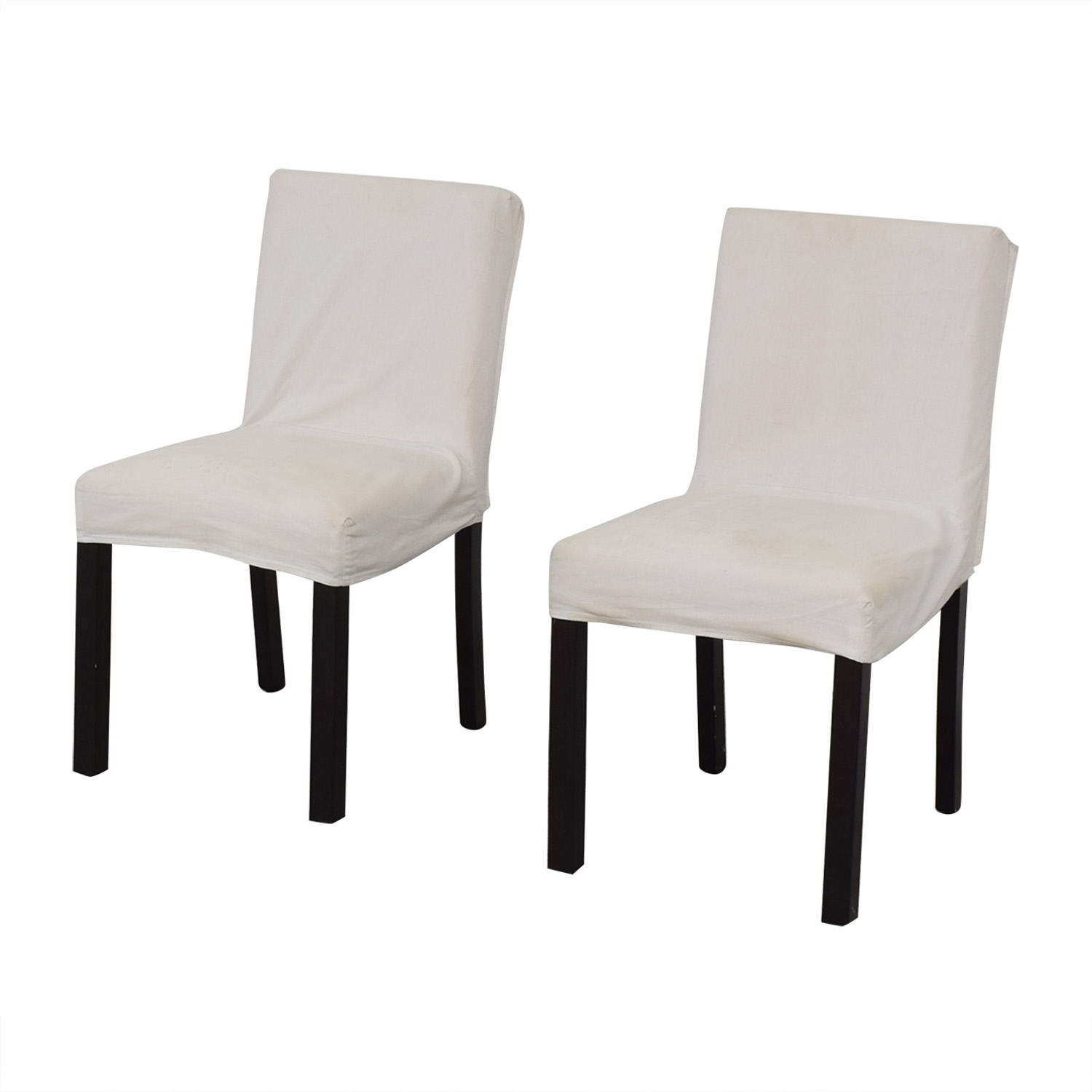 Crate & Barrel Crate & Barrel White Chairs nj
