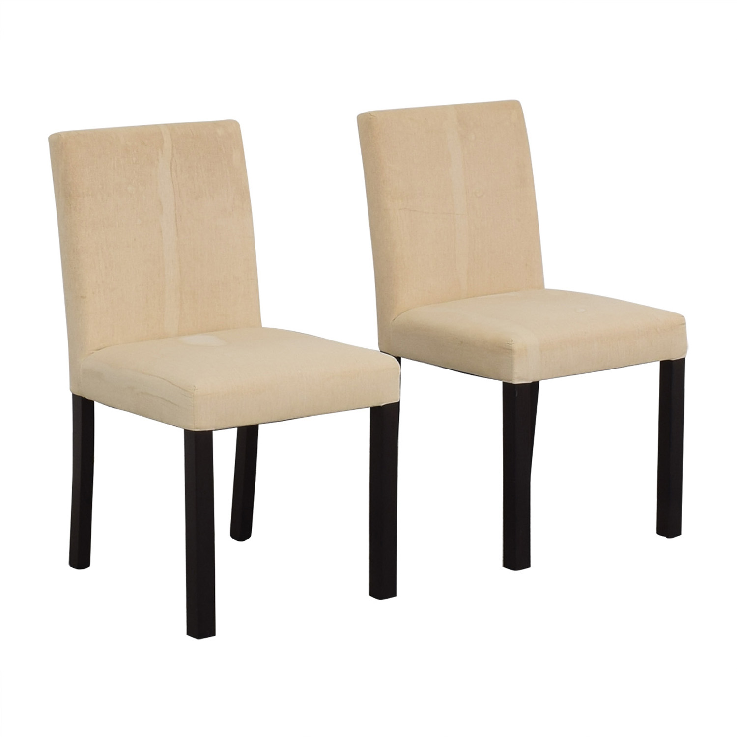 Crate & Barrel Crate & Barrel White Chairs for sale