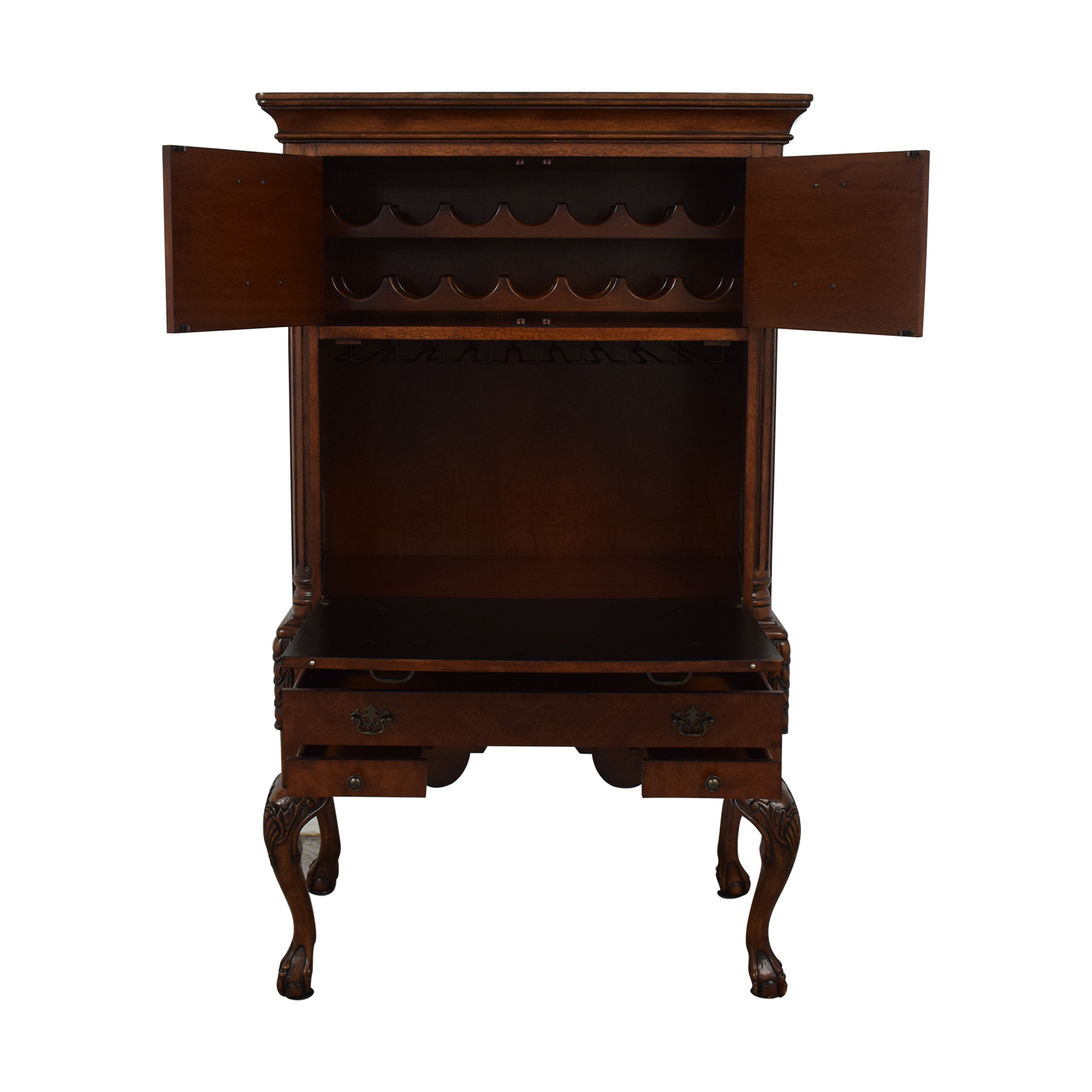 Hekman Furniture Hekman Furniture Wine Cabinet dimensions