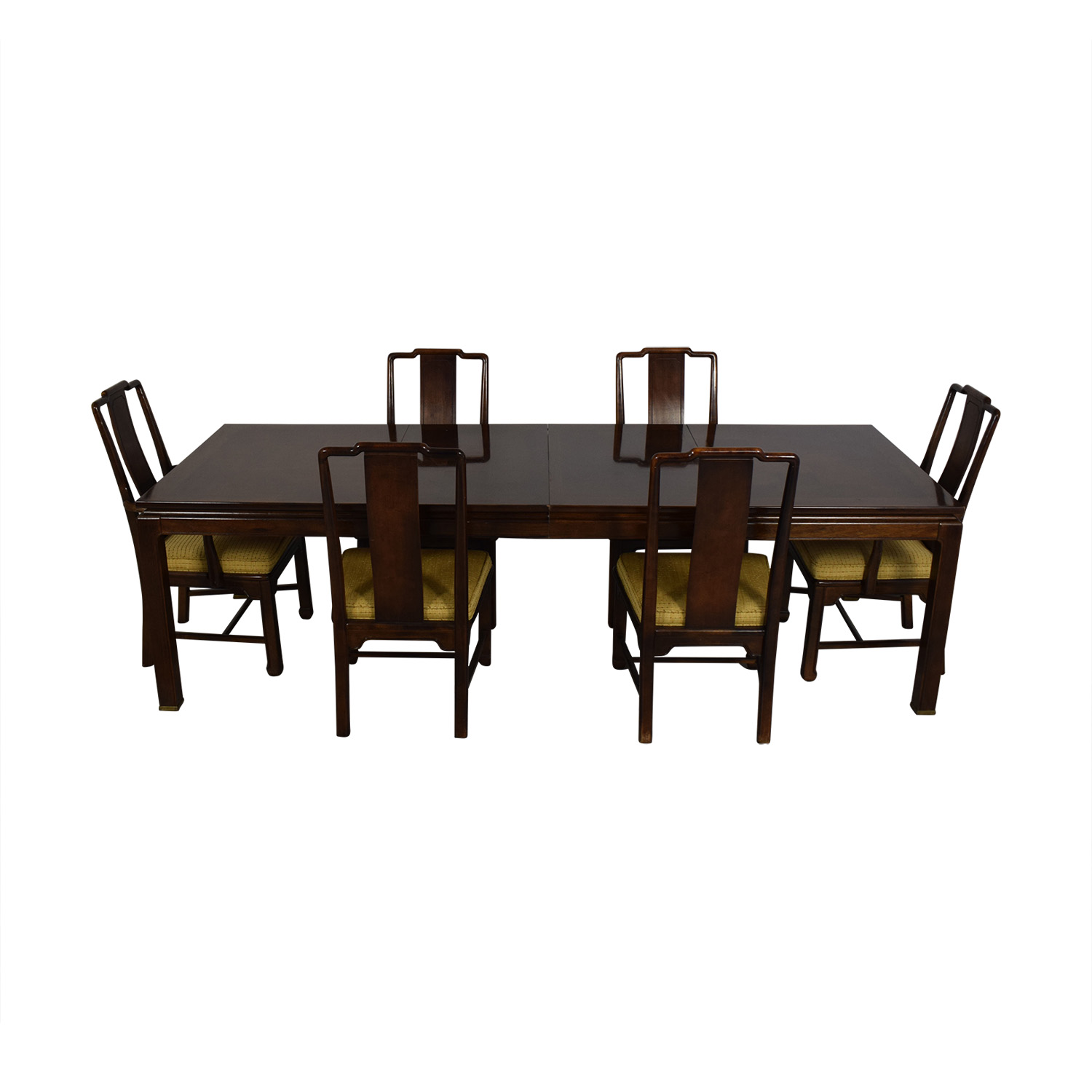 American Of Martinsville Dining Room Table And Chairs / Tables
