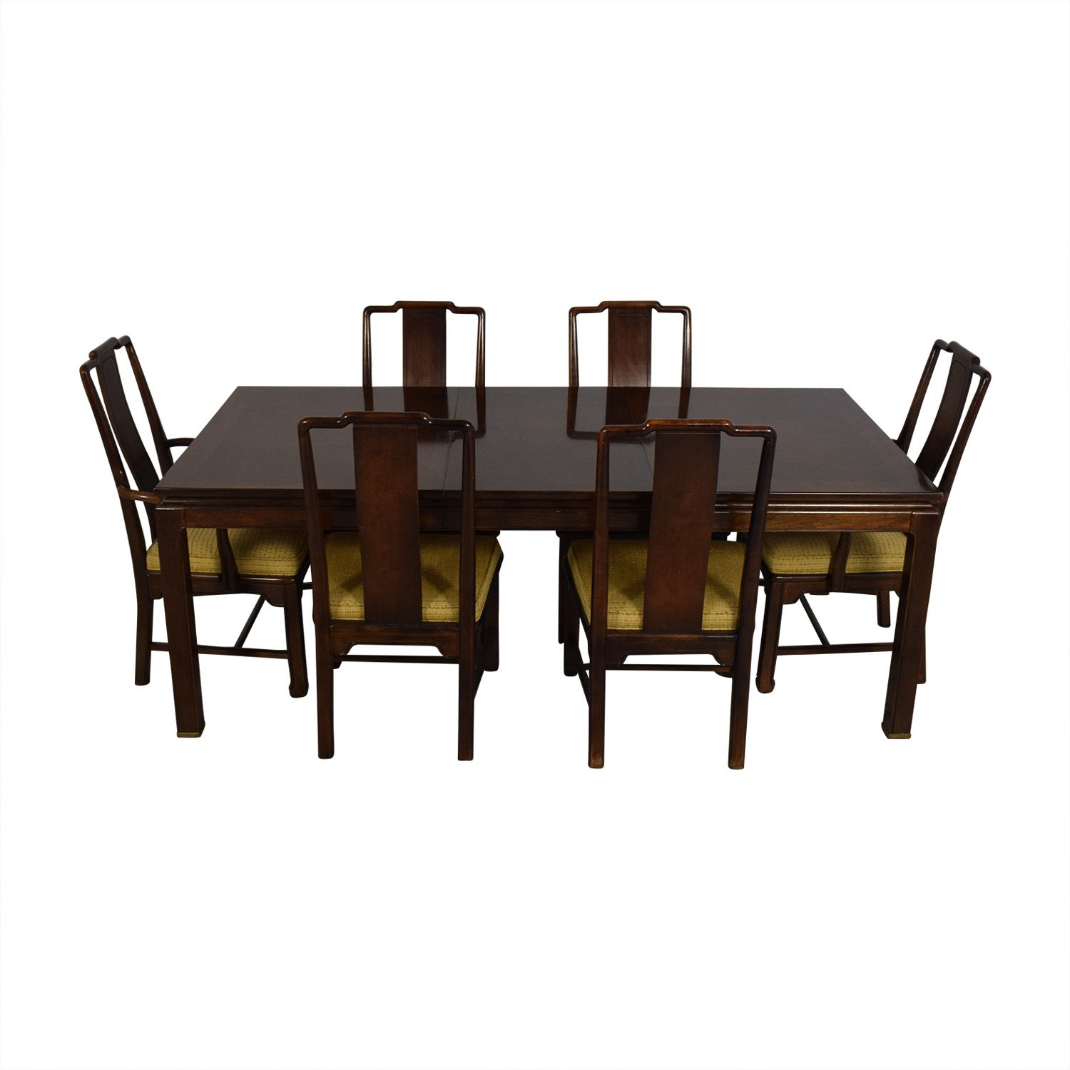 American of Martinsville American Of Martinsville Dining Room Table And Chairs dimensions