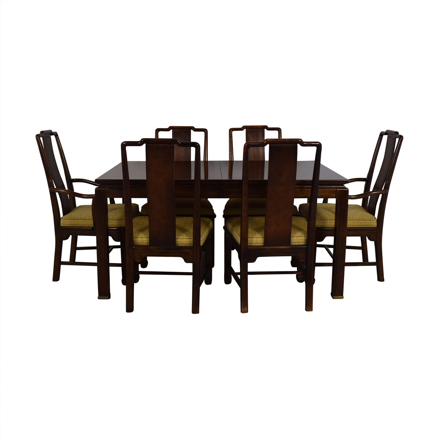 American Of Martinsville Dining Room Table And Chairs / Dining Sets