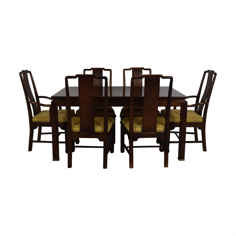 American Of Martinsville Dining Room Table And Chairs