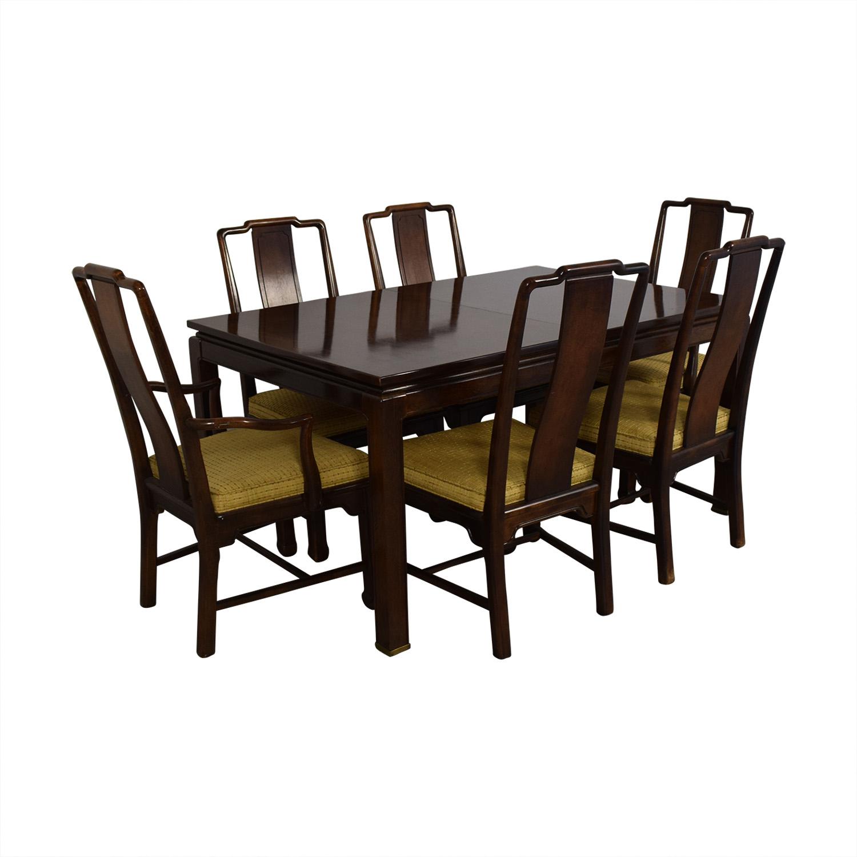 american of martinsville dining room set | 75% OFF - American of Martinsville American Of ...