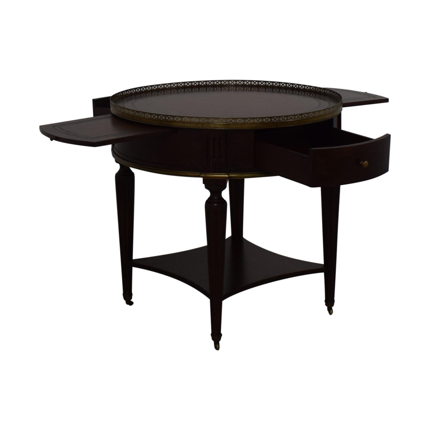 John Richard European Crossroads Bouillotte Table / Accent Tables
