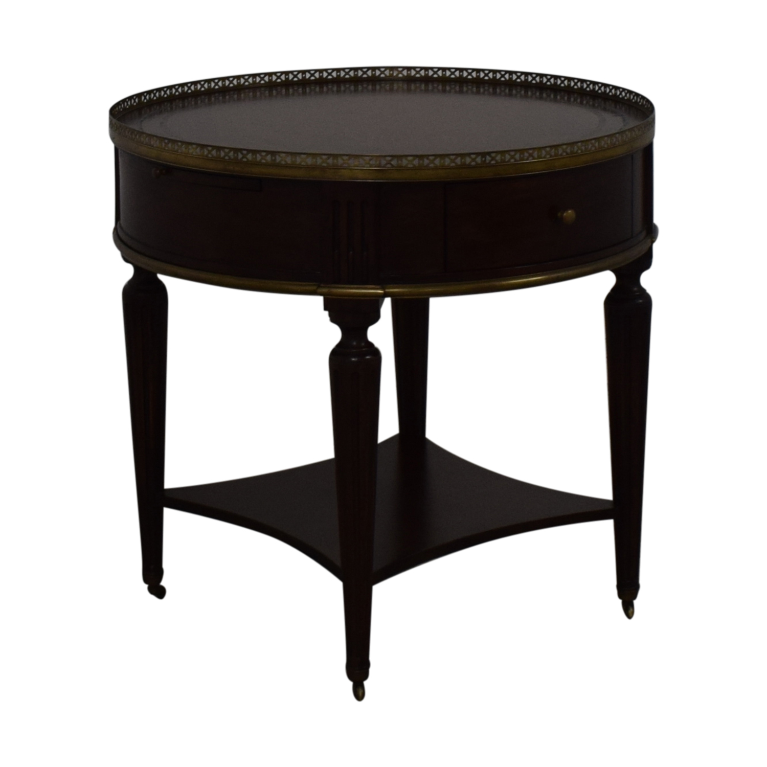 John Richard European Crossroads Bouillotte Table / Tables