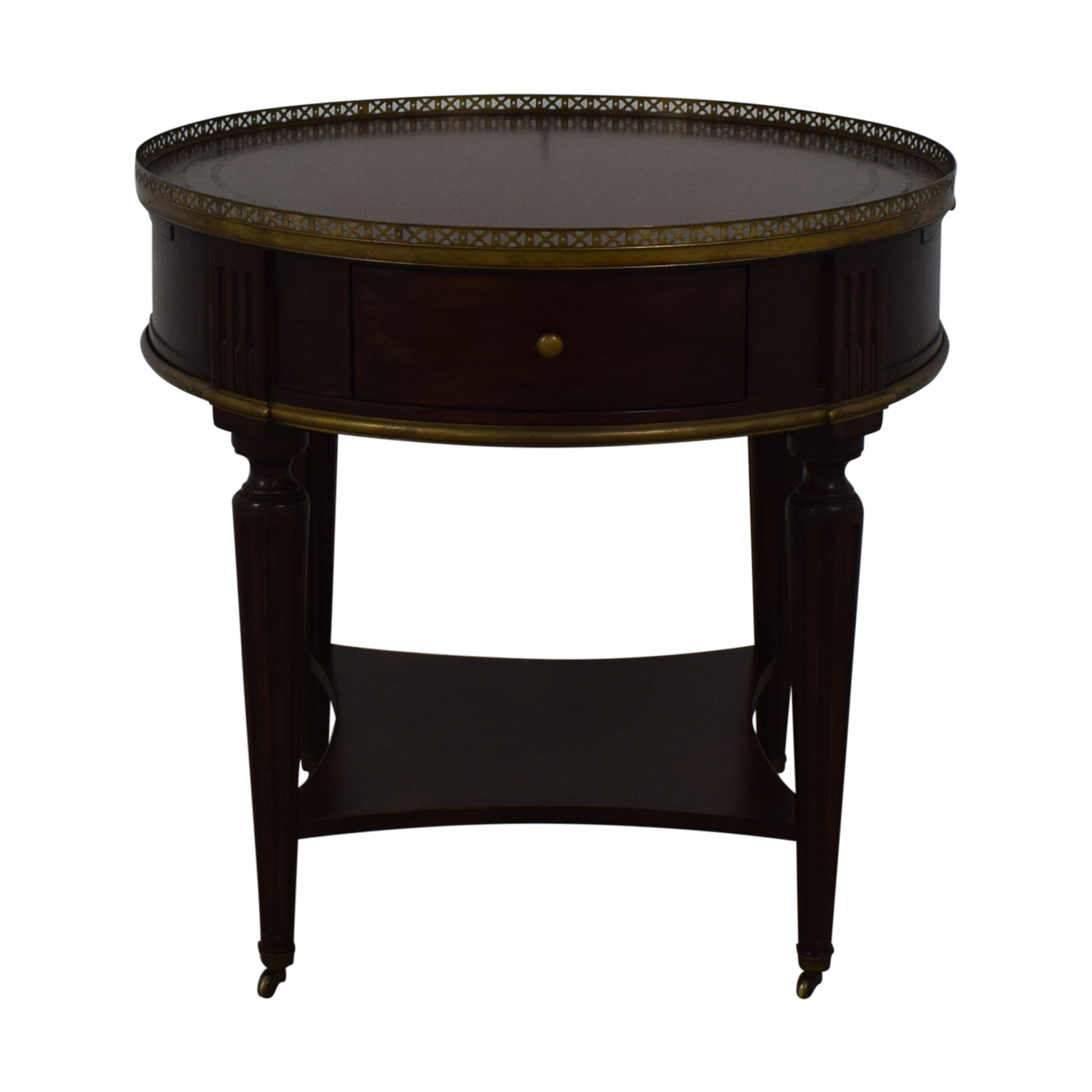 John Richard European Crossroads Bouillotte Table John Richard