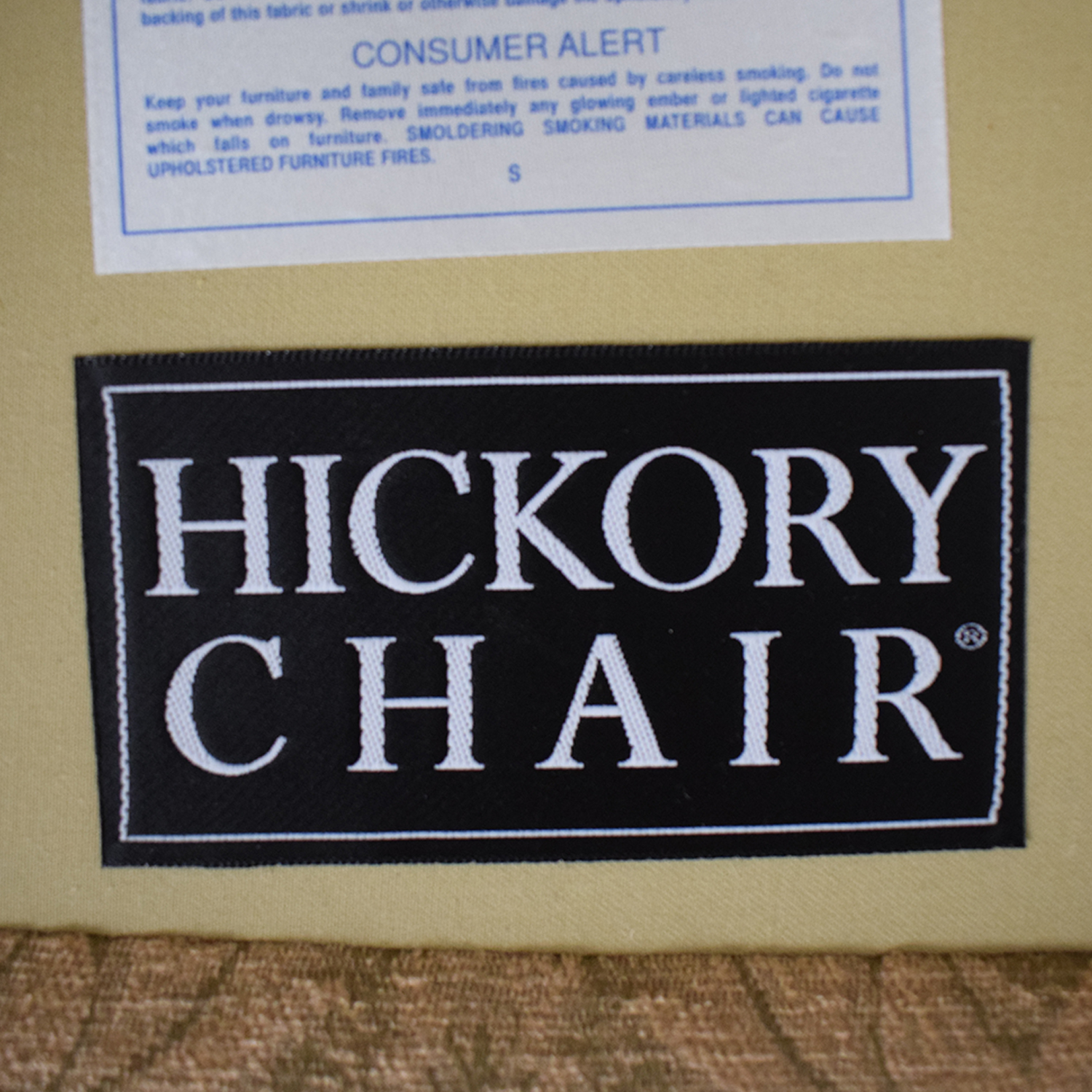 Hickory Chair Hickory Chair Three-Cushion Floral Sofa for sale