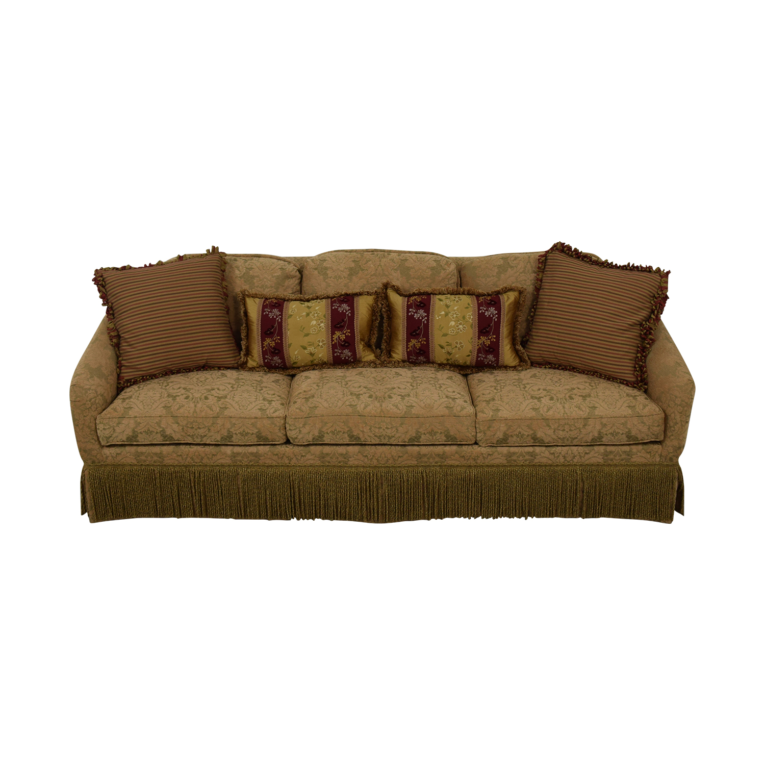 Hickory Chair Hickory Chair Three-Cushion Floral Sofa used