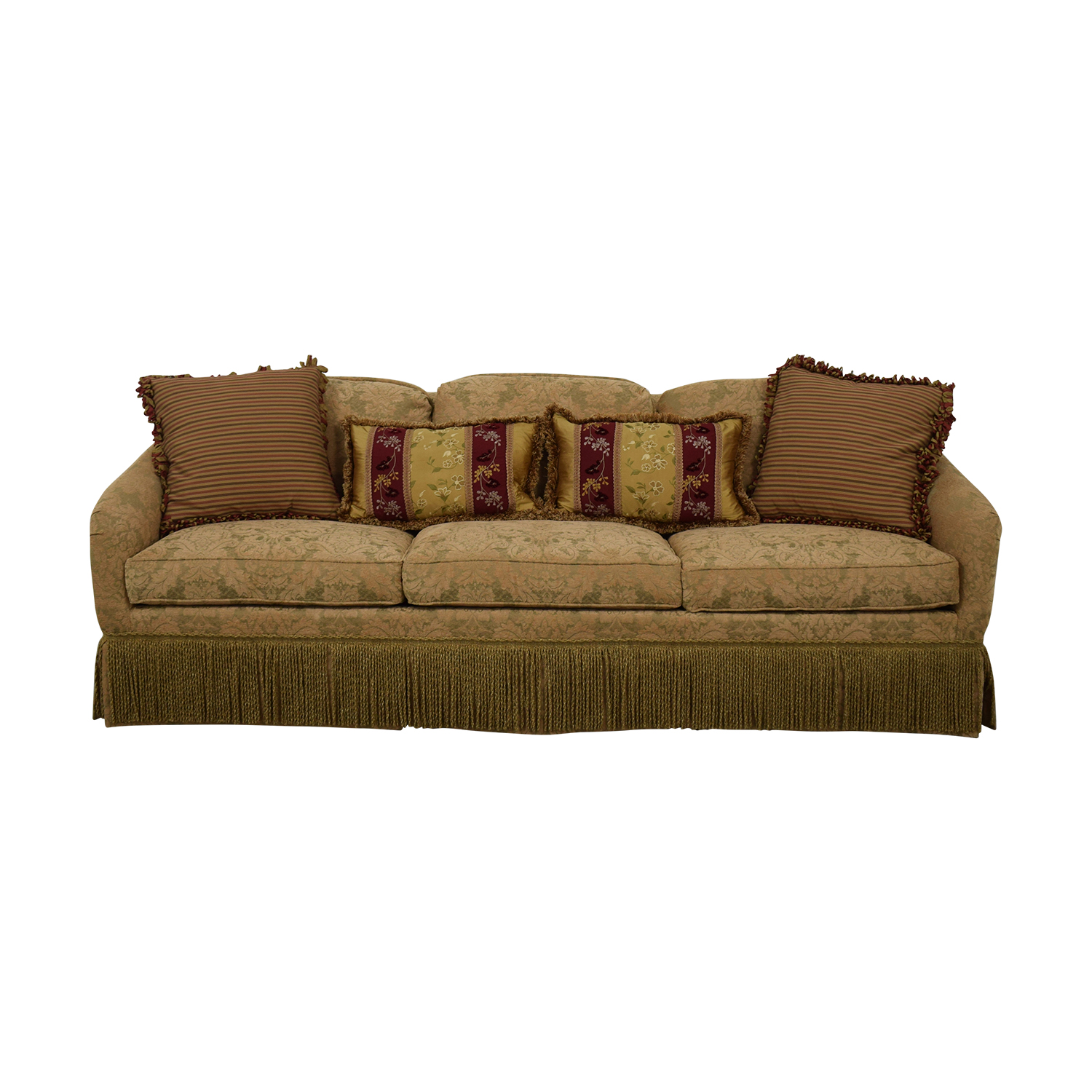 Hickory Chair Hickory Chair Three-Cushion Floral Sofa Sofas