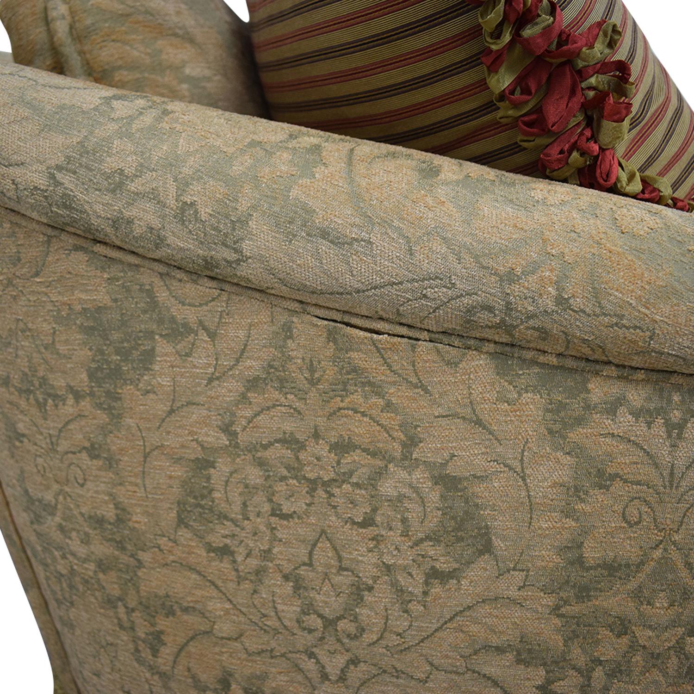 Hickory Chair Three-Cushion Floral Sofa / Classic Sofas