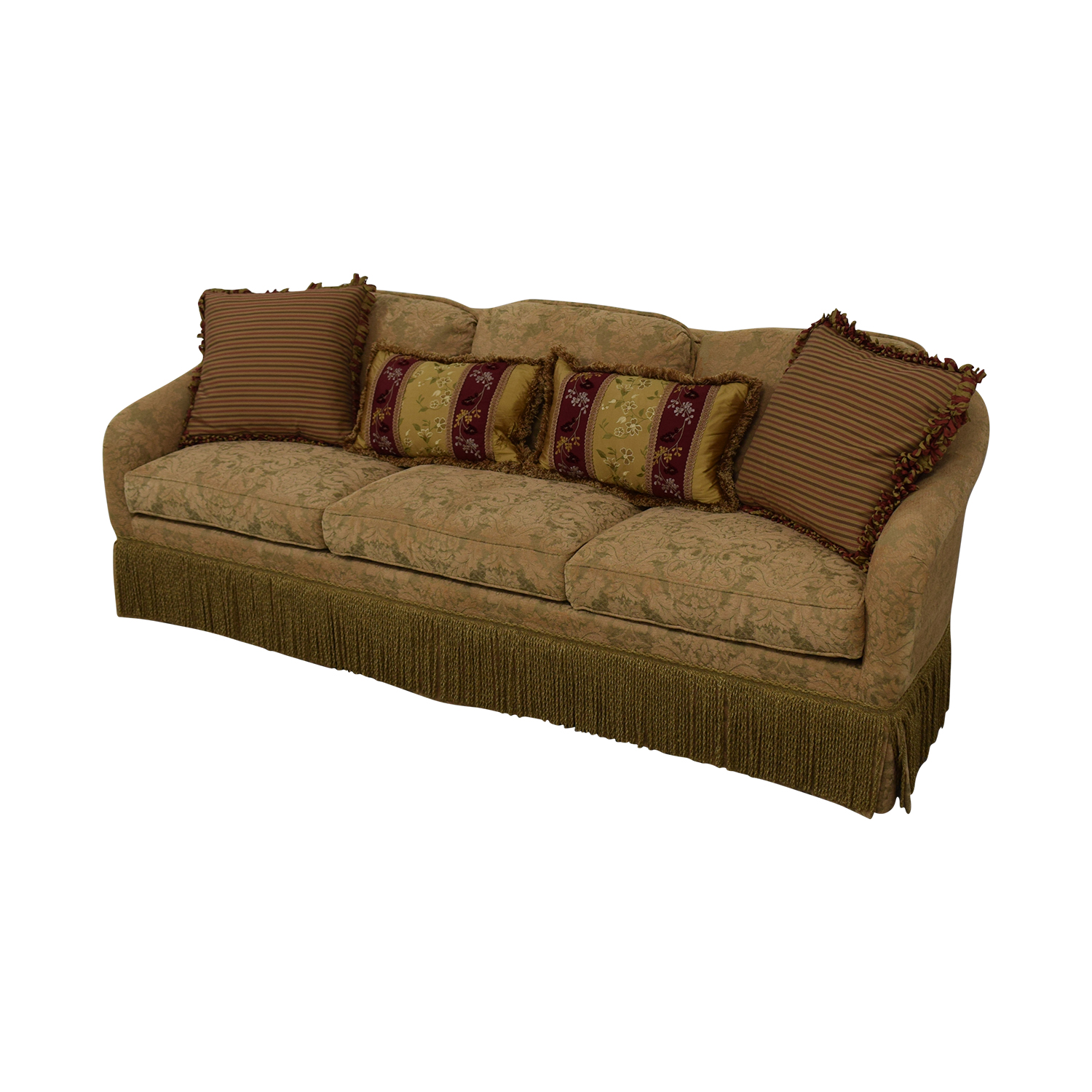 shop Hickory Chair Hickory Chair Three-Cushion Floral Sofa online