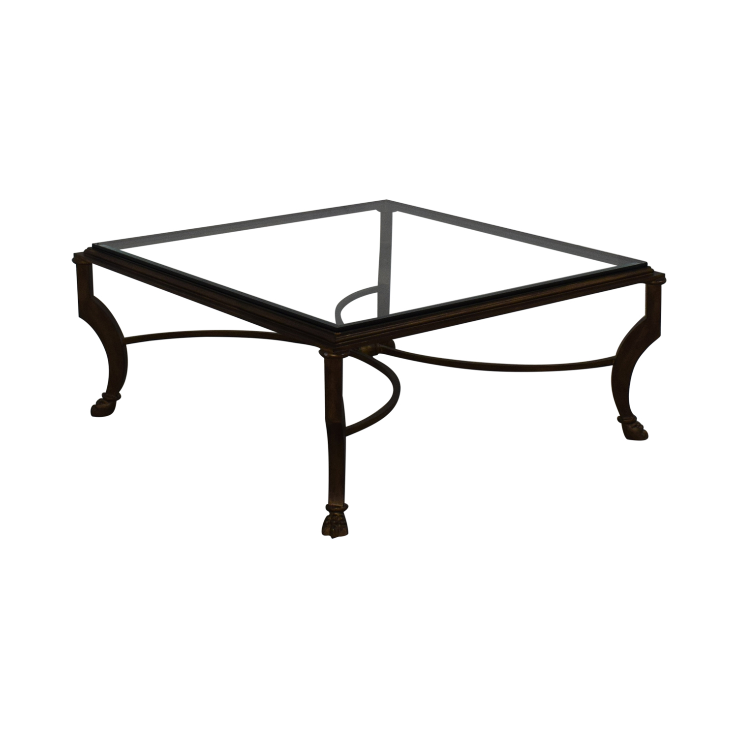 Kravet Kravet Glass Coffee Table on sale