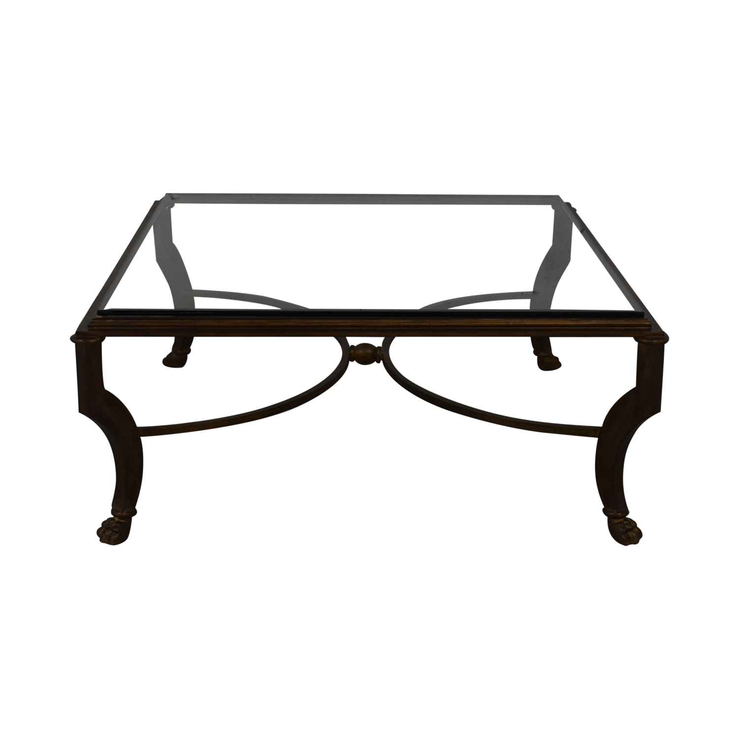 shop Kravet Glass Coffee Table Kravet