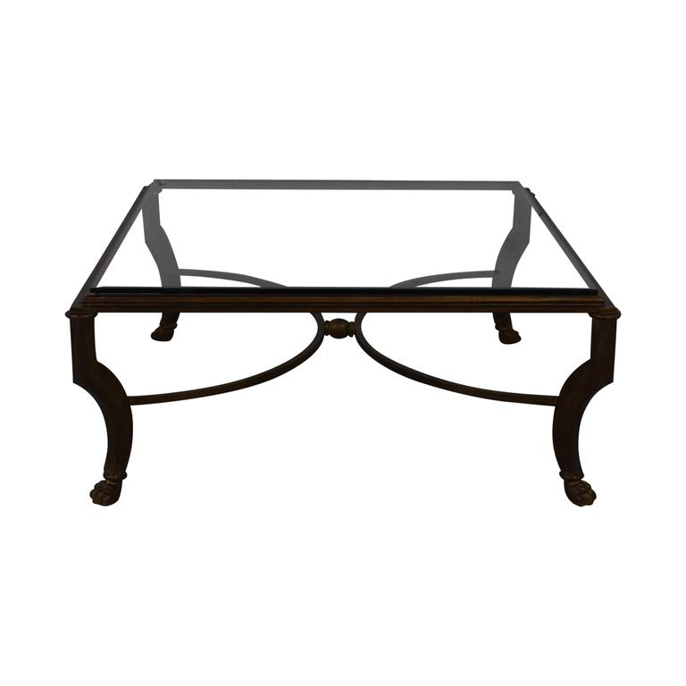 Kravet Kravet Glass Coffee Table