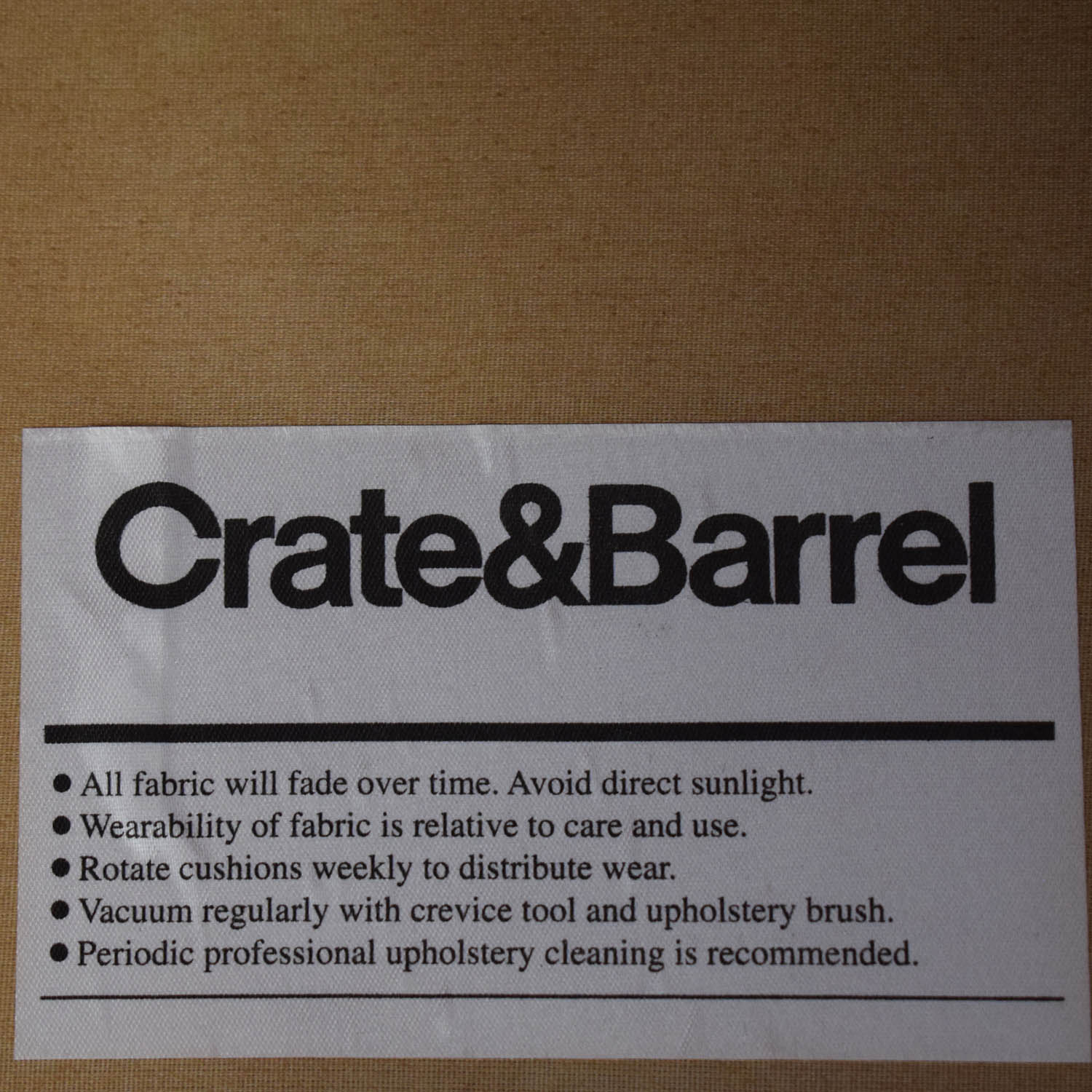 shop Crate & Barrel Hennessy Arm Chair Crate & Barrel Accent Chairs