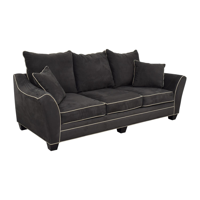 Raymour & Flanigan Raymour & Flanigan Briarwood Microfiber Sofa on sale
