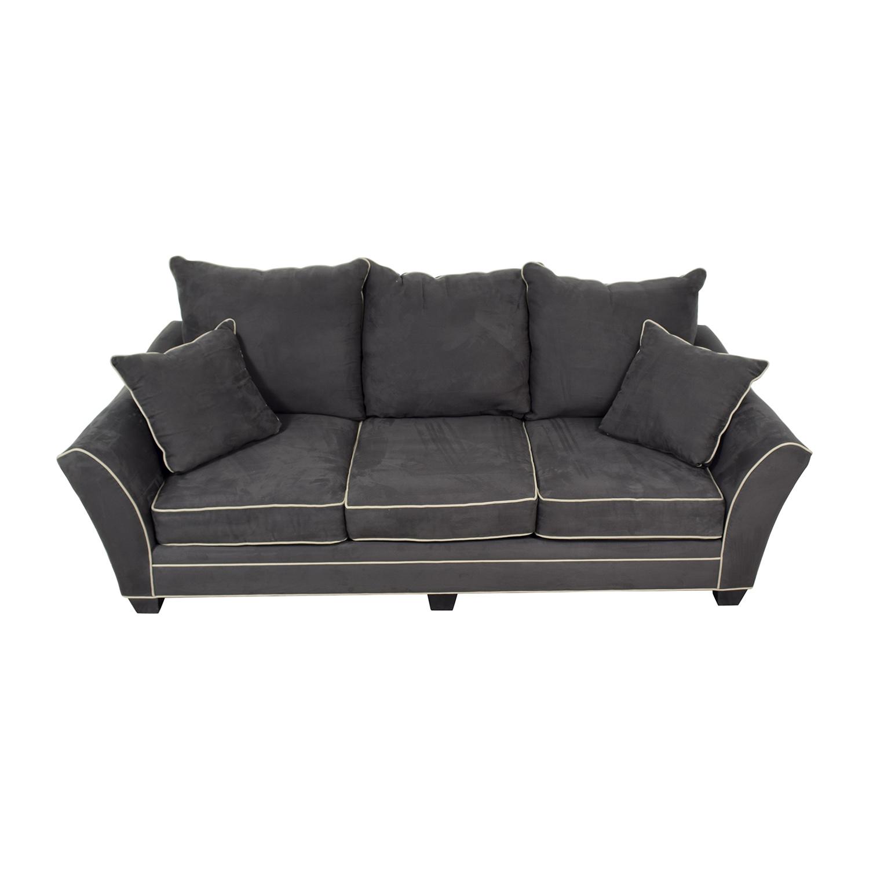 buy Raymour & Flanigan Raymour & Flanigan Briarwood Microfiber Sofa online