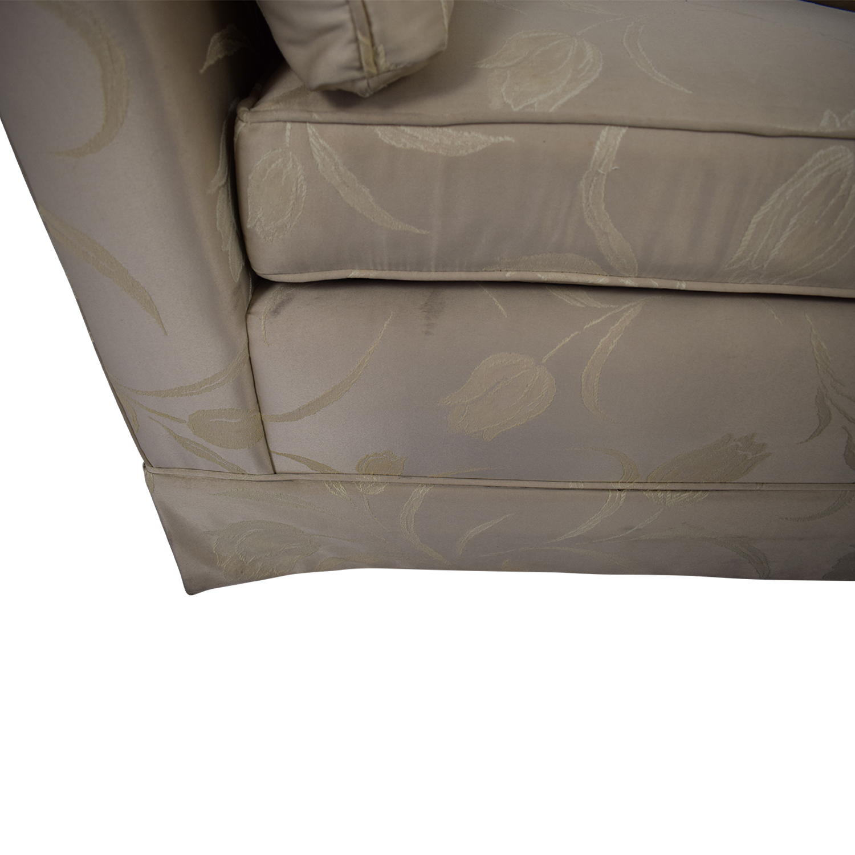 Stanton Cooper Floral Full Sleeper Sofa dimensions