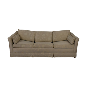 Stanton Cooper Floral Full Sleeper Sofa second hand