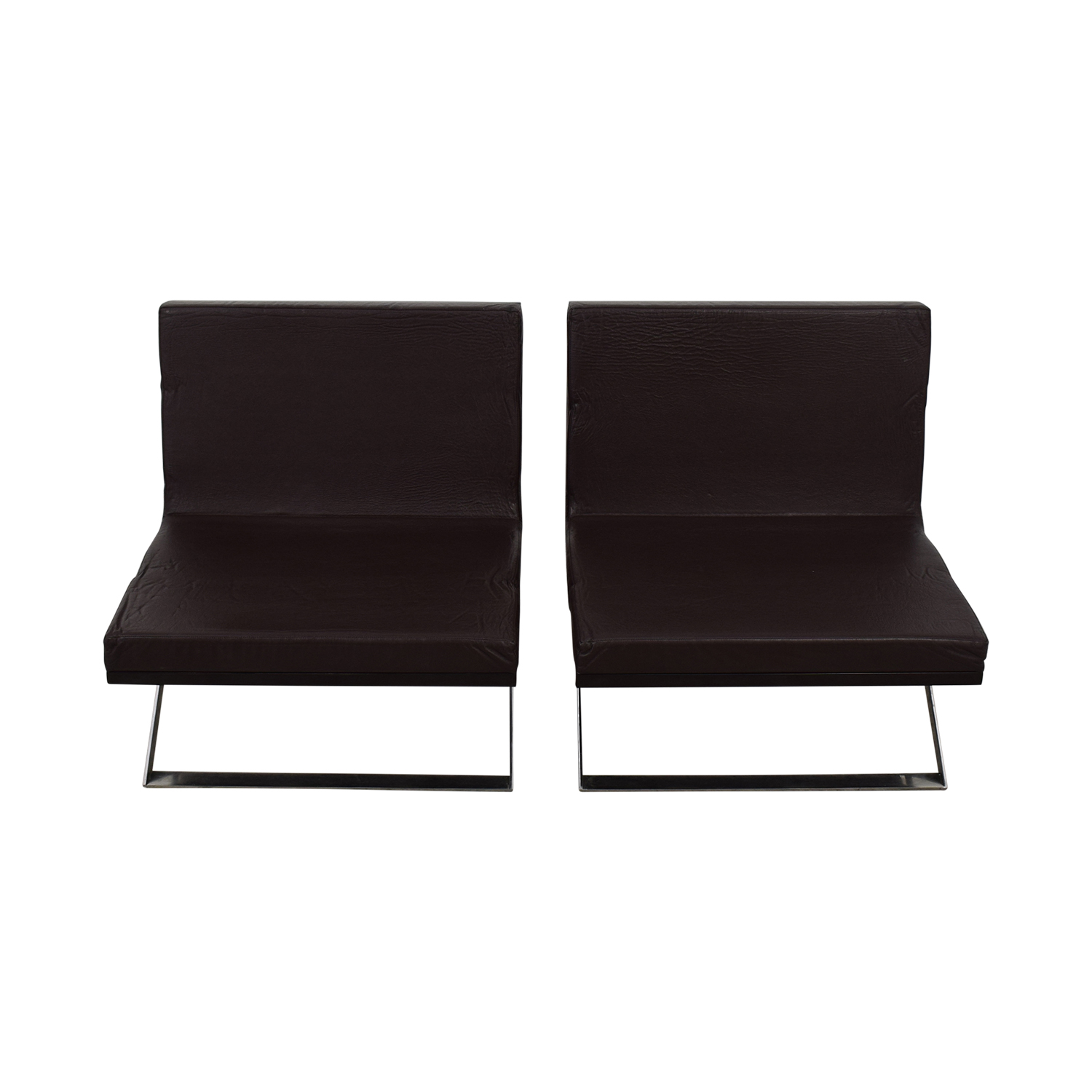 Louis Kazan Louis Kazan Kalup Occasional Chairs discount