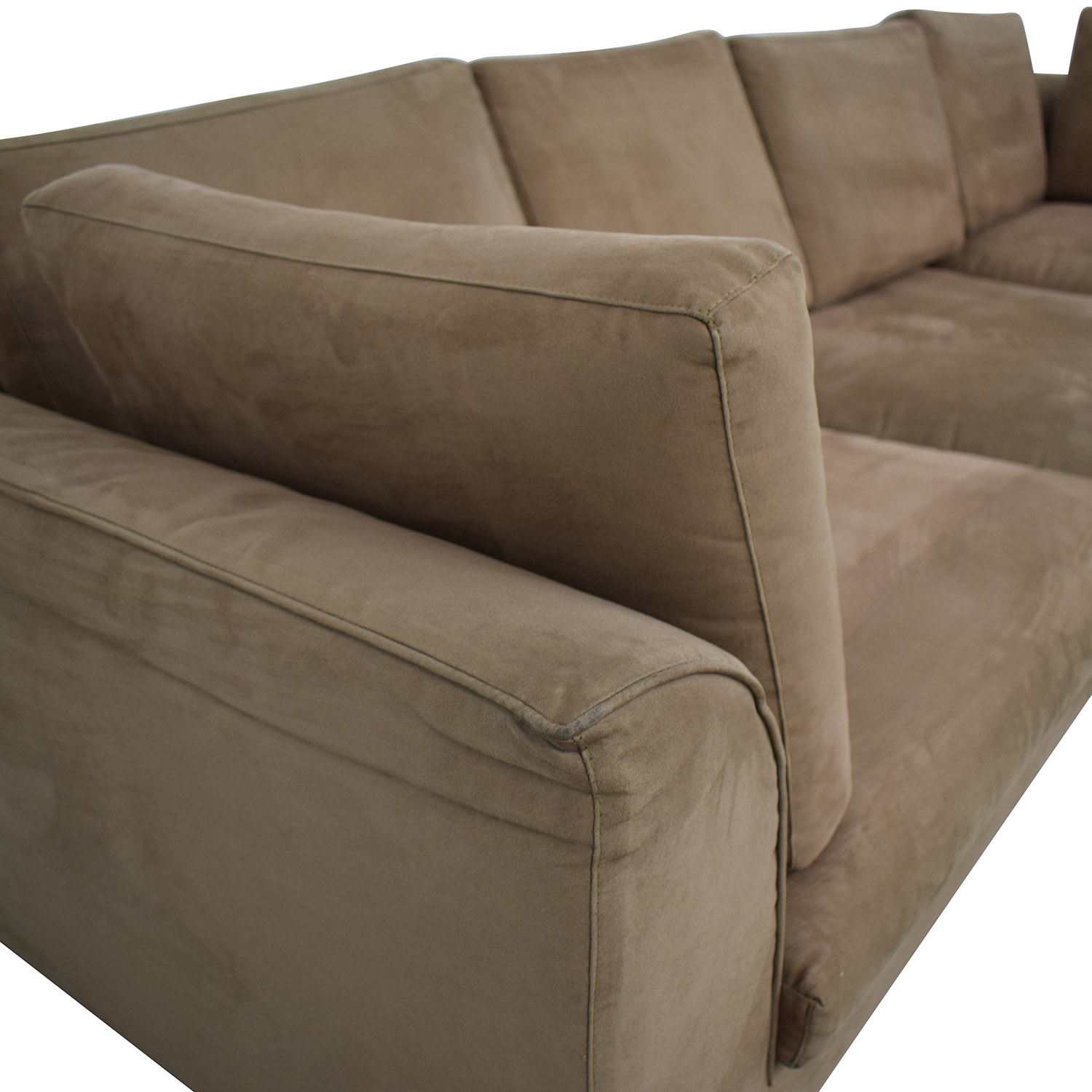 buy Brown Sectional Sofa With Chaise  Sectionals