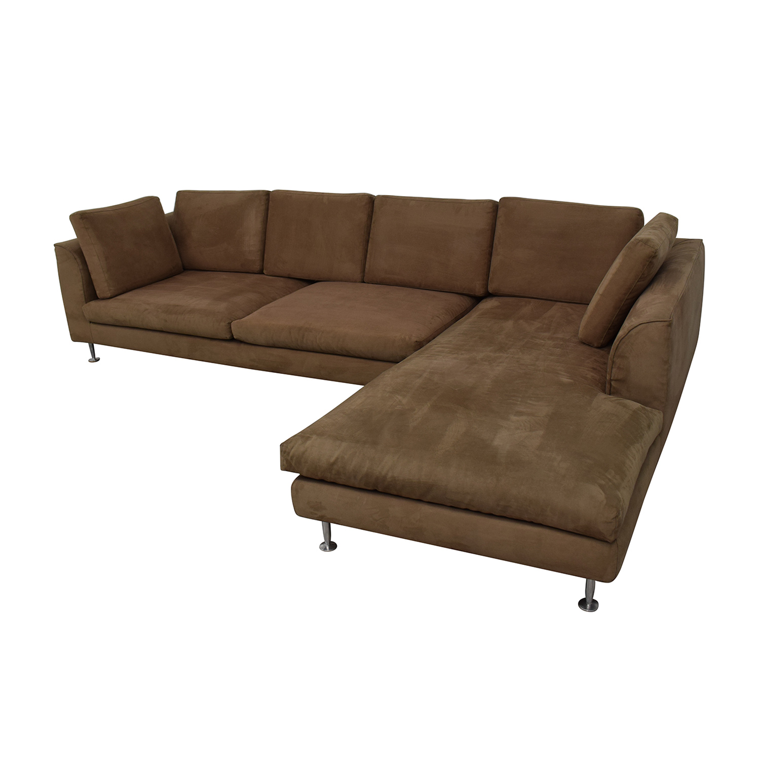 Brown Sectional Sofa With Chaise sale