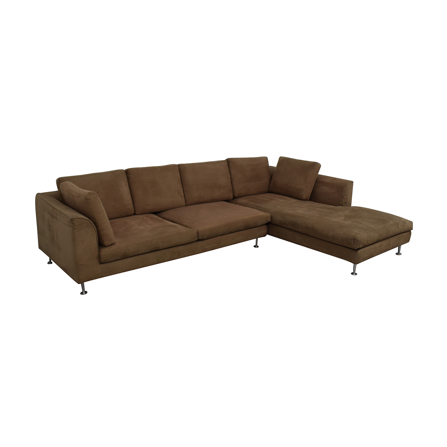 Brown Sectional Sofa With Chaise coupon