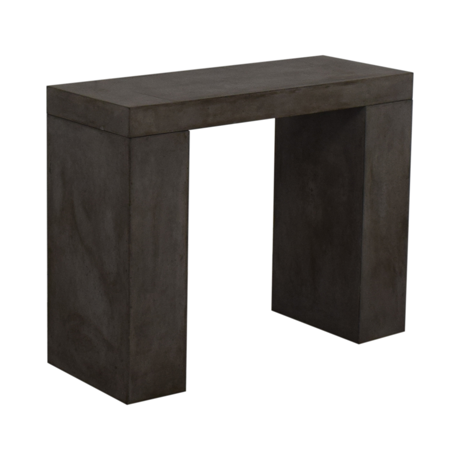Rustic Concrete Console Tables