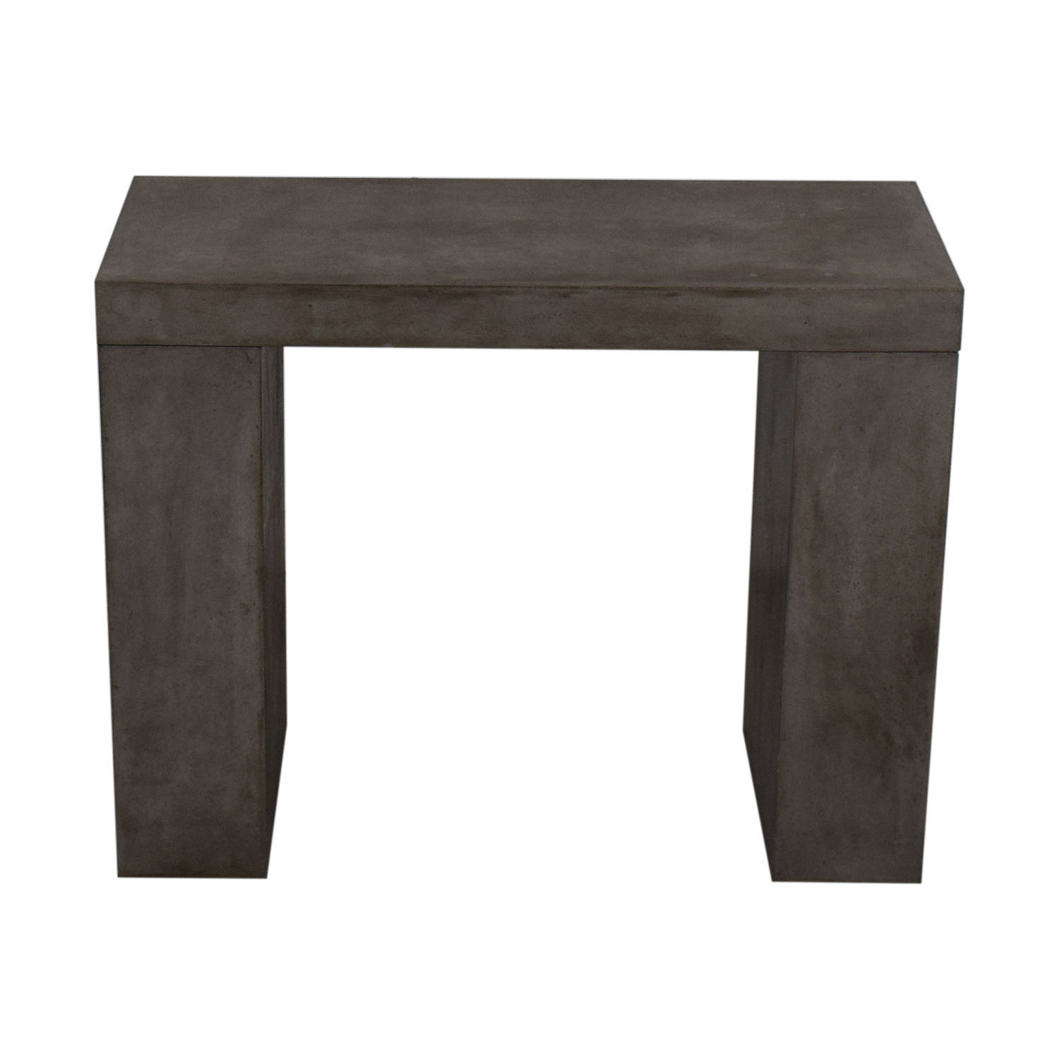 Rustic Concrete Console second hand
