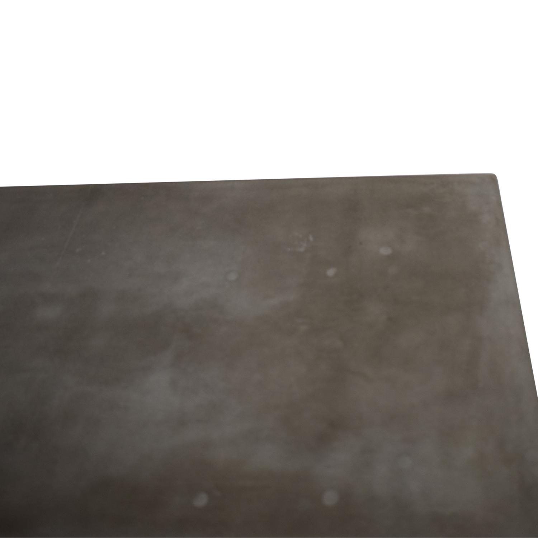shop Rustic Concrete Console