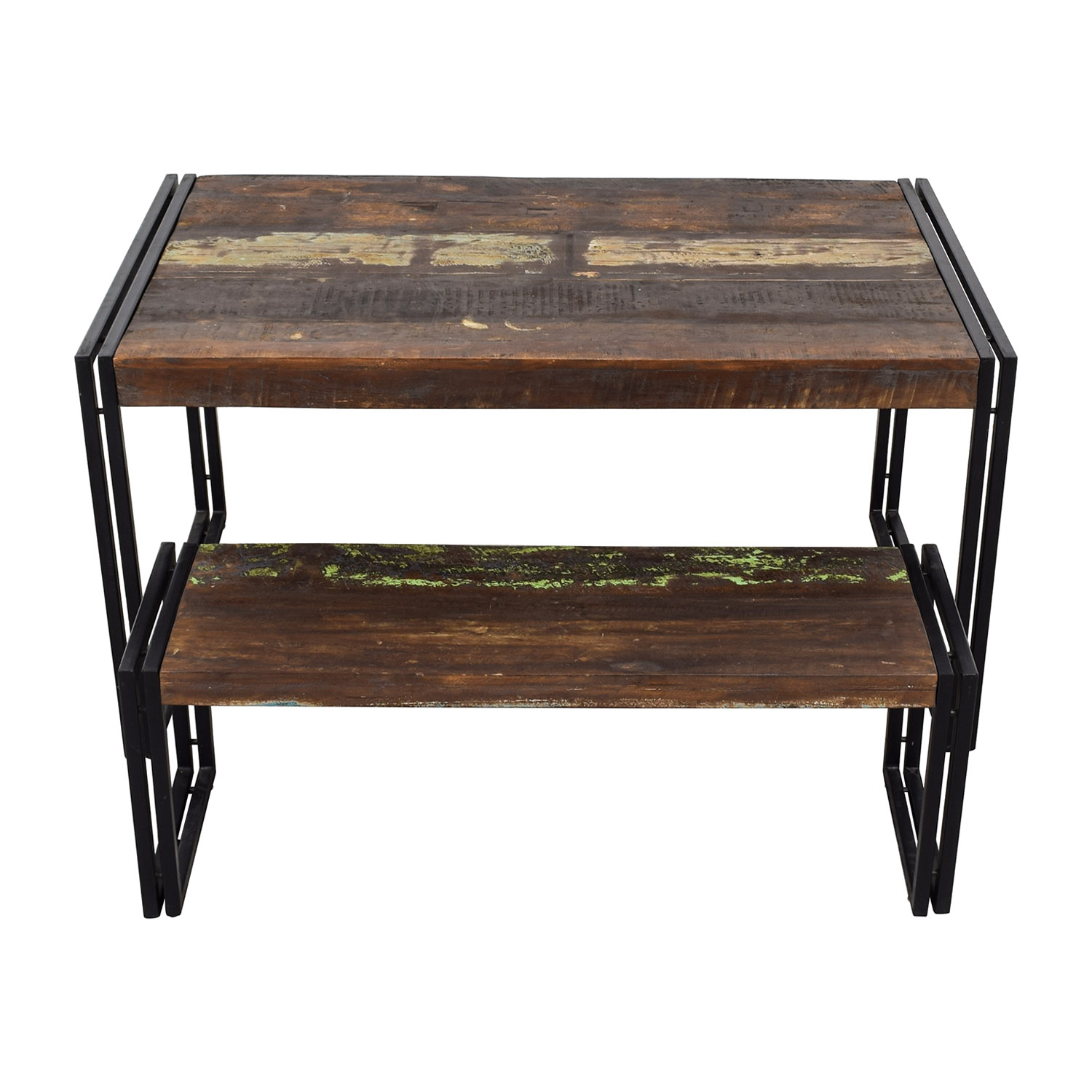 Timbergirl Solid Reclaimed Wood Dining Table With Bench Timbergirl