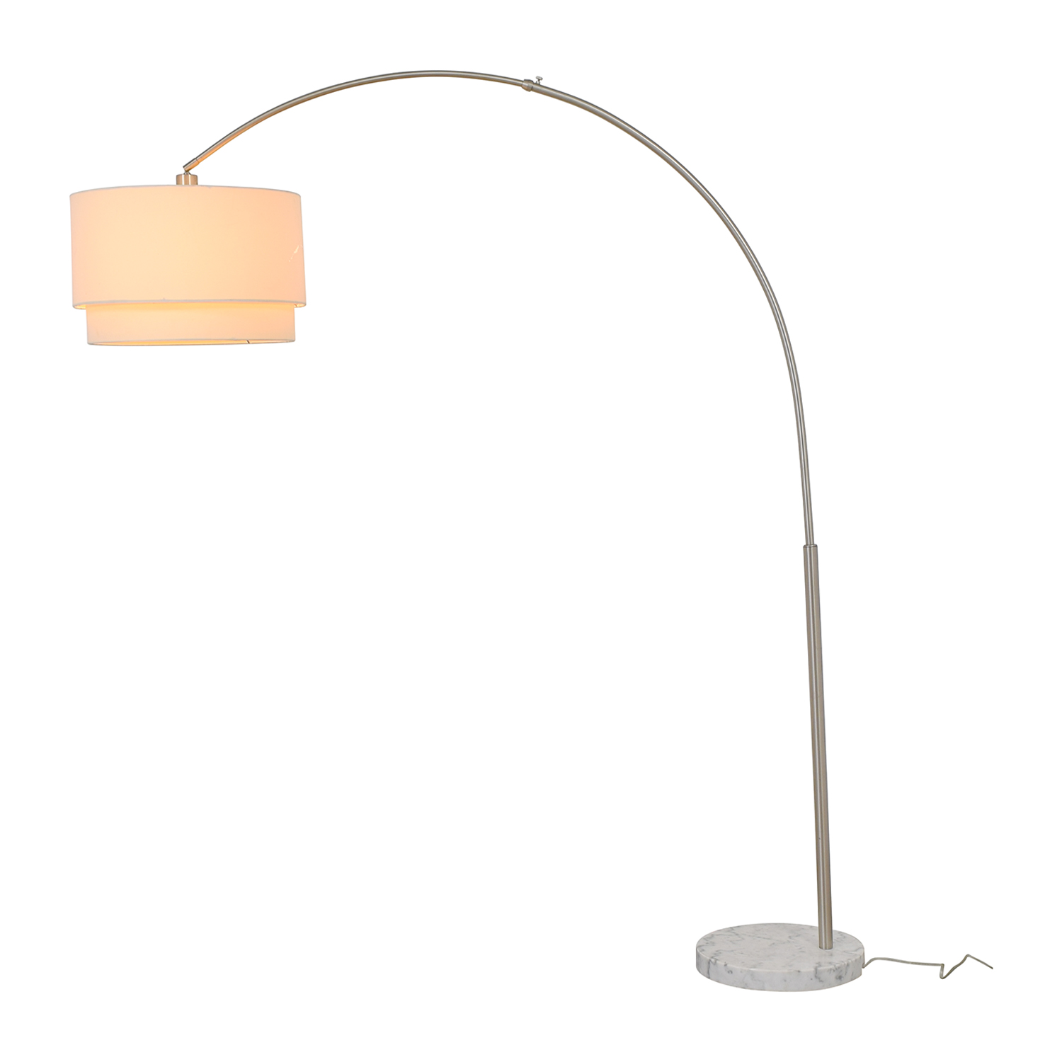 shop Crate & Barrel Crate & Barrel Meryl Arc Floor Lamp online