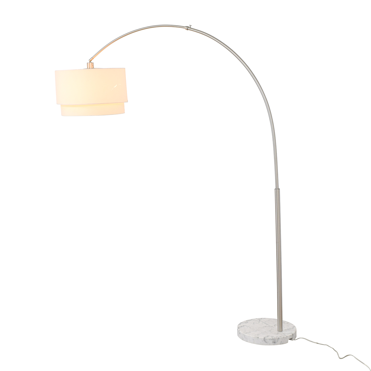 shop Crate & Barrel Meryl Arc Floor Lamp Crate & Barrel