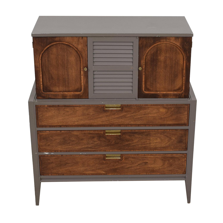 Basic-Witz Basic-Witz Vintage Custom Dresser gray
