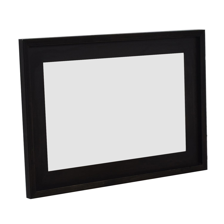 West Elm West Elm Black Framed Mirror second hand