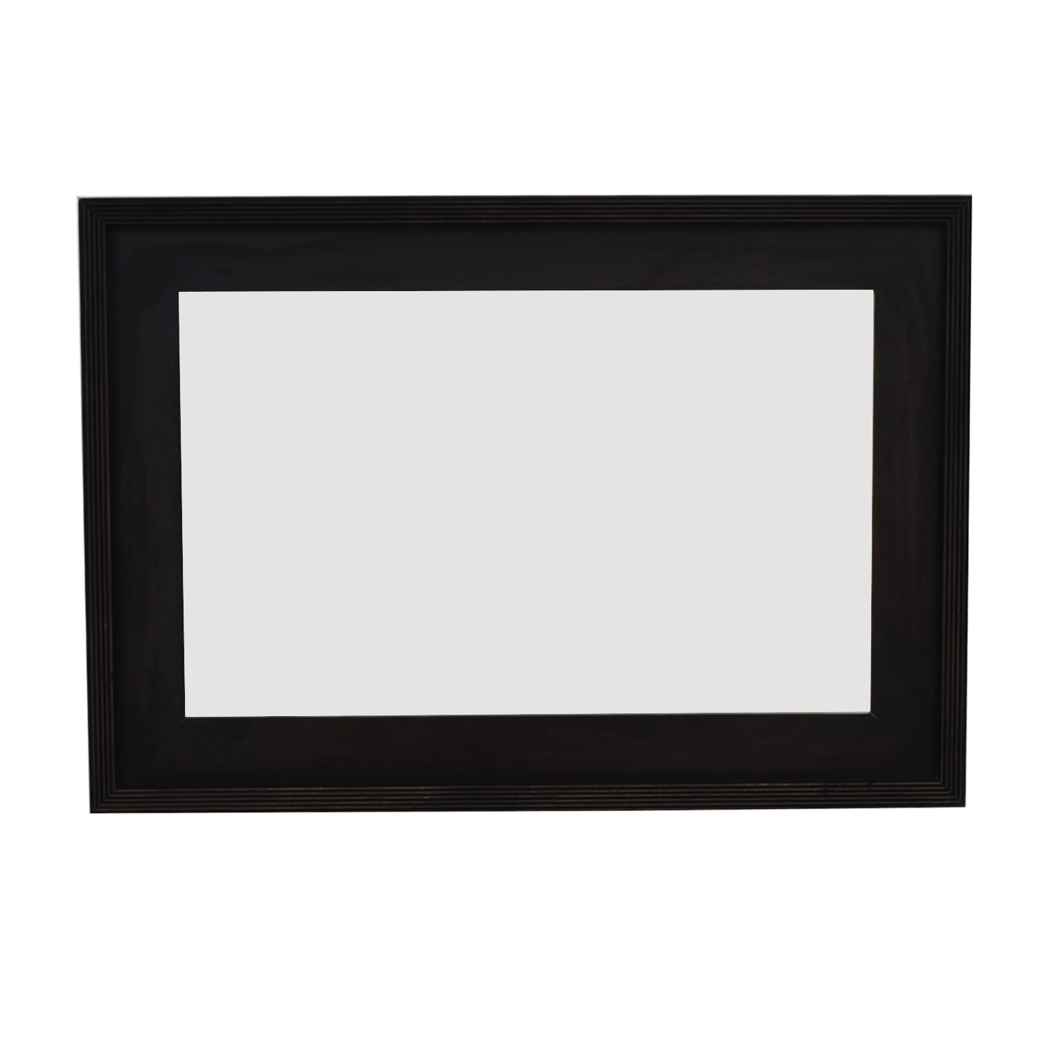 shop West Elm Black Framed Mirror West Elm