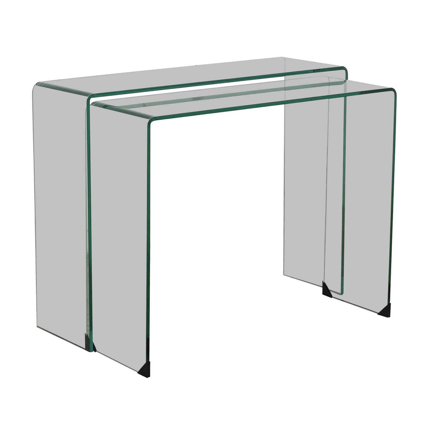 Chintaly Imports Chintaly Nesting Console Tables nyc