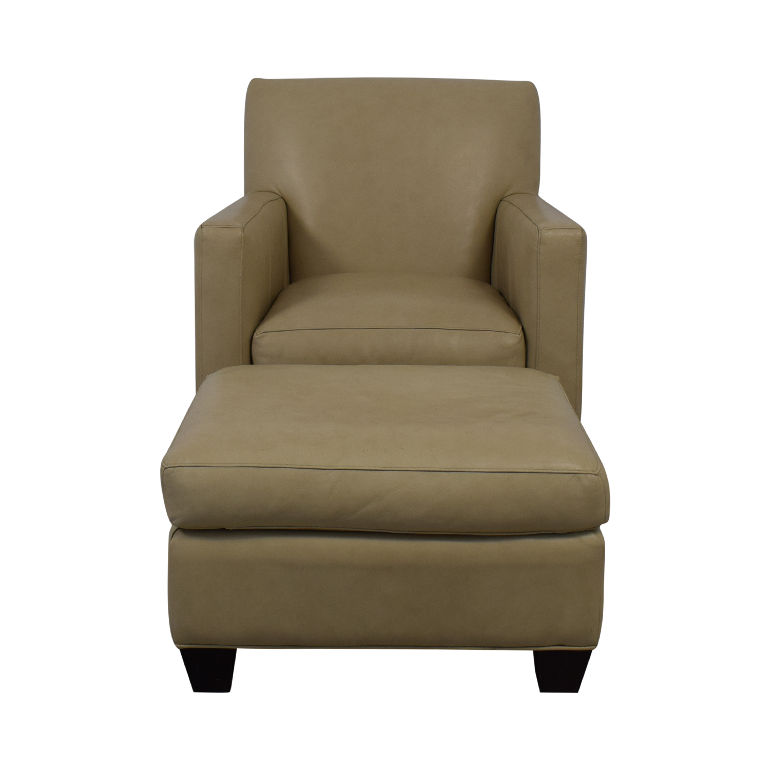 buy Crate & Barrel Accent Chair With Ottoman Crate & Barrel Chairs
