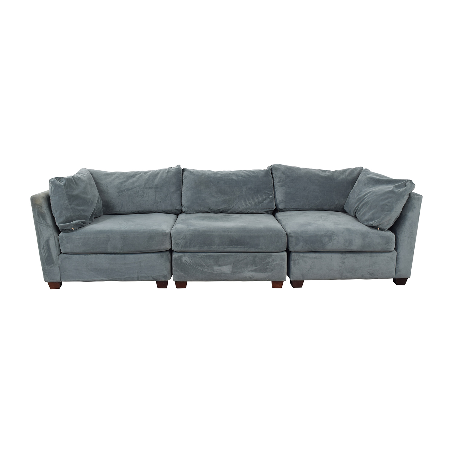 shop Bauhaus Furniture Cornflower Blue Sofa Bauhaus Furniture Sectionals