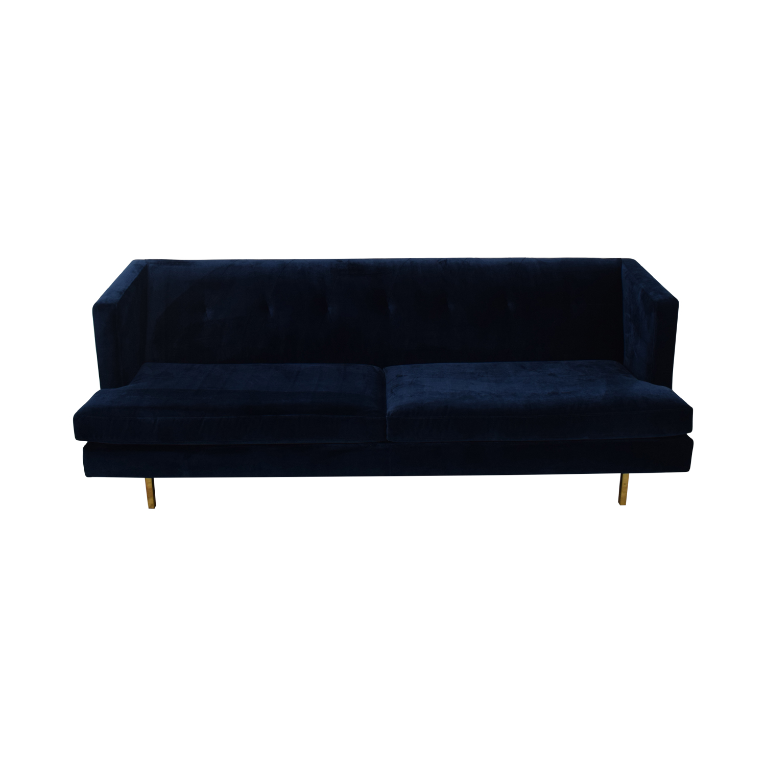 CB2 Avec Sofa with Brass Legs CB2