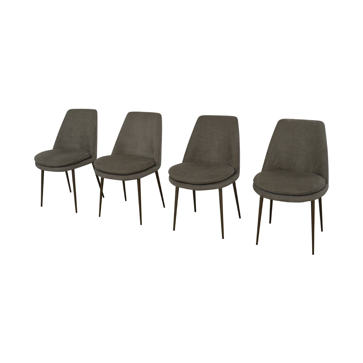 West Elm Finley Low Back Dining Chairs West Elm