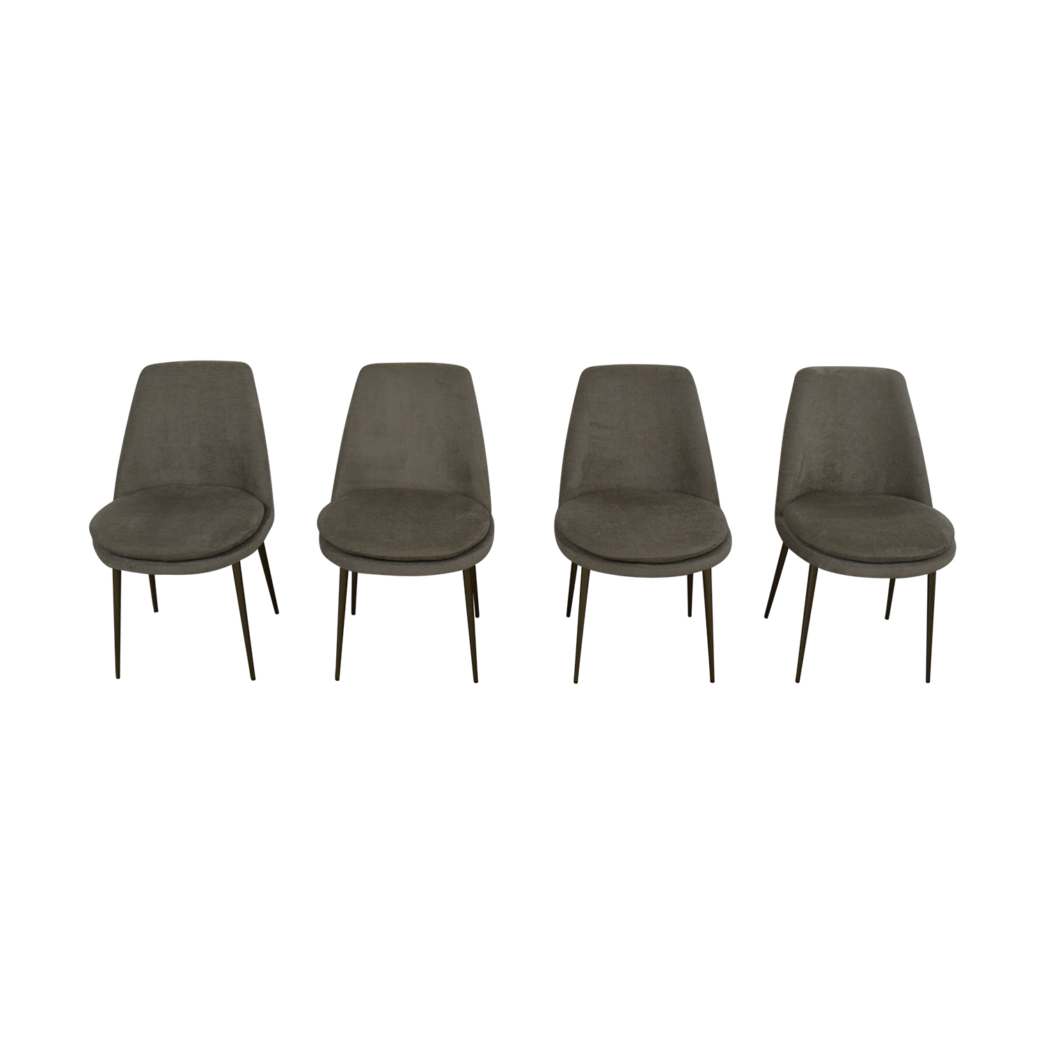 shop West Elm Finley Low Back Dining Chairs West Elm Dining Chairs