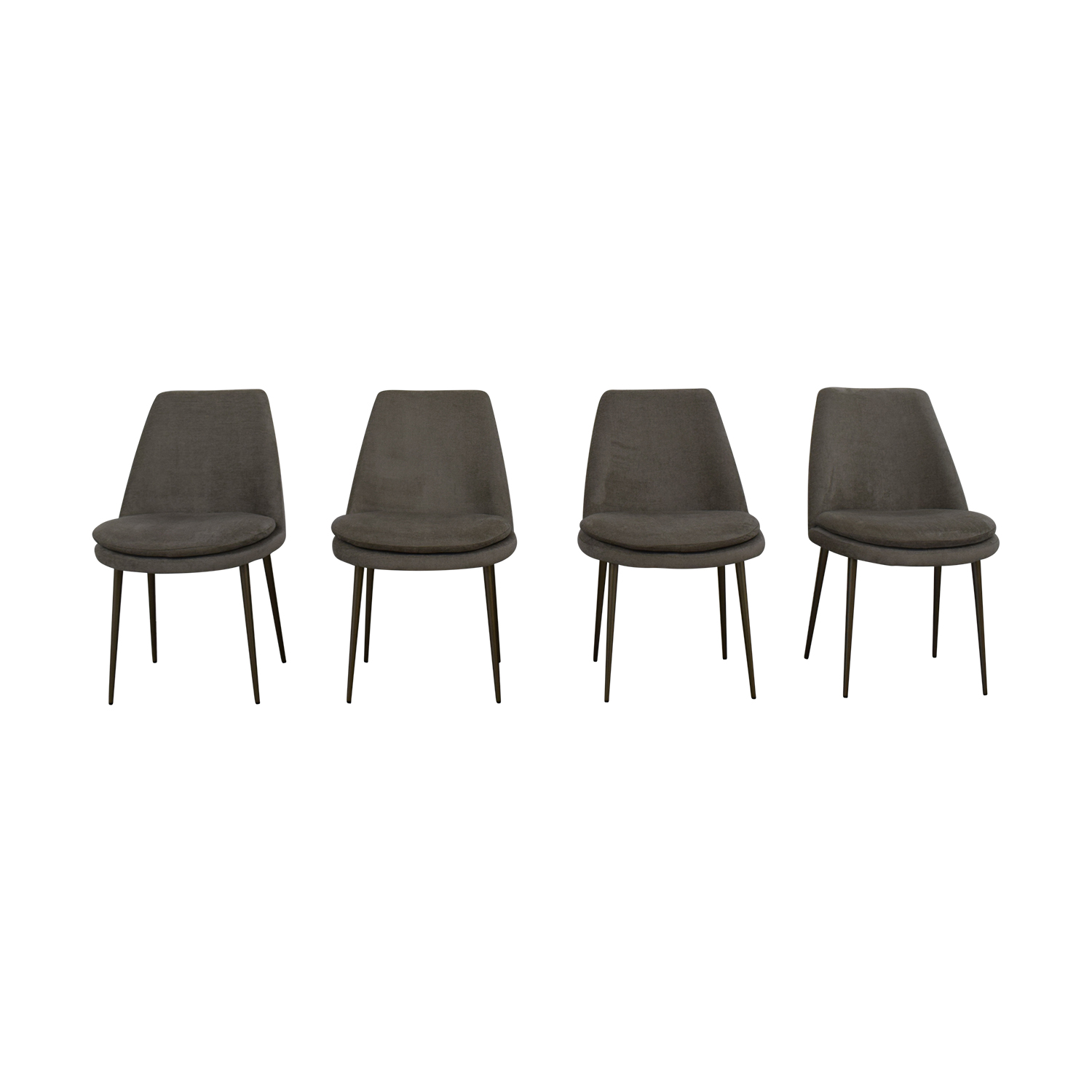 West Elm Finley Low Back Dining Chairs / Chairs