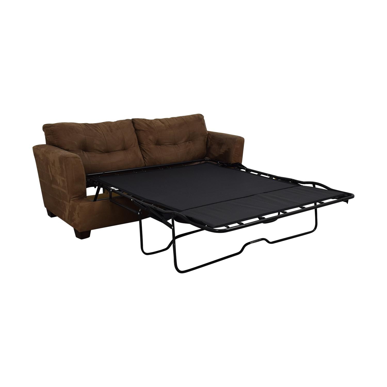 - 84% OFF - Jennifer Furniture Jennifer Convertibles Queen Sleeper