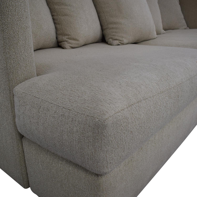 shop Crate & Barrel Crate & Barrel Milo Baughman Shelter Sofa online