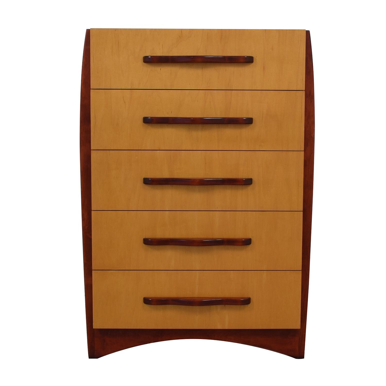 shop Dialogica Five Drawer Dresser Dialogica Dressers