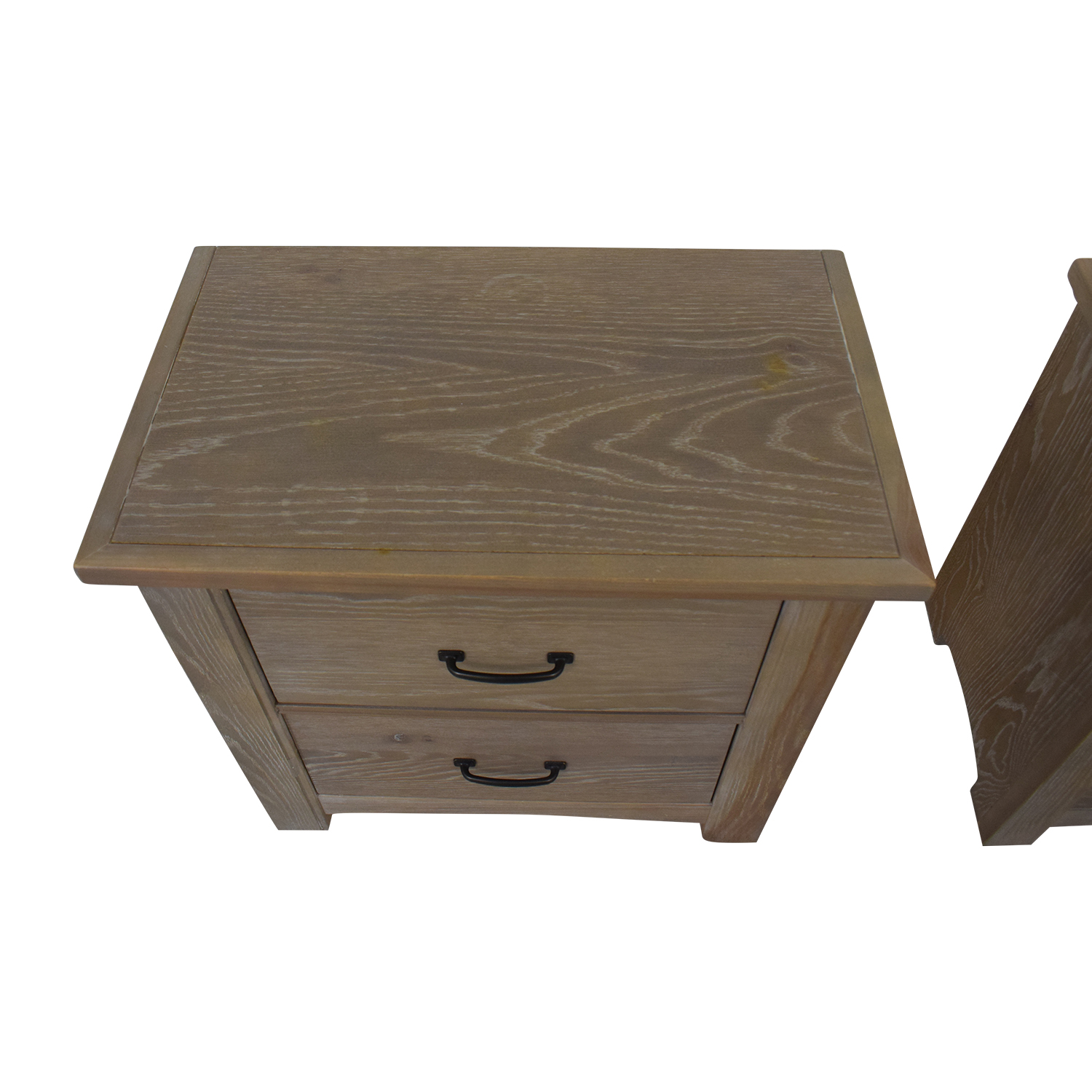 buy Vaughan-Basset Transitions Two Drawer Nightstands Vaughan-Bassett End Tables