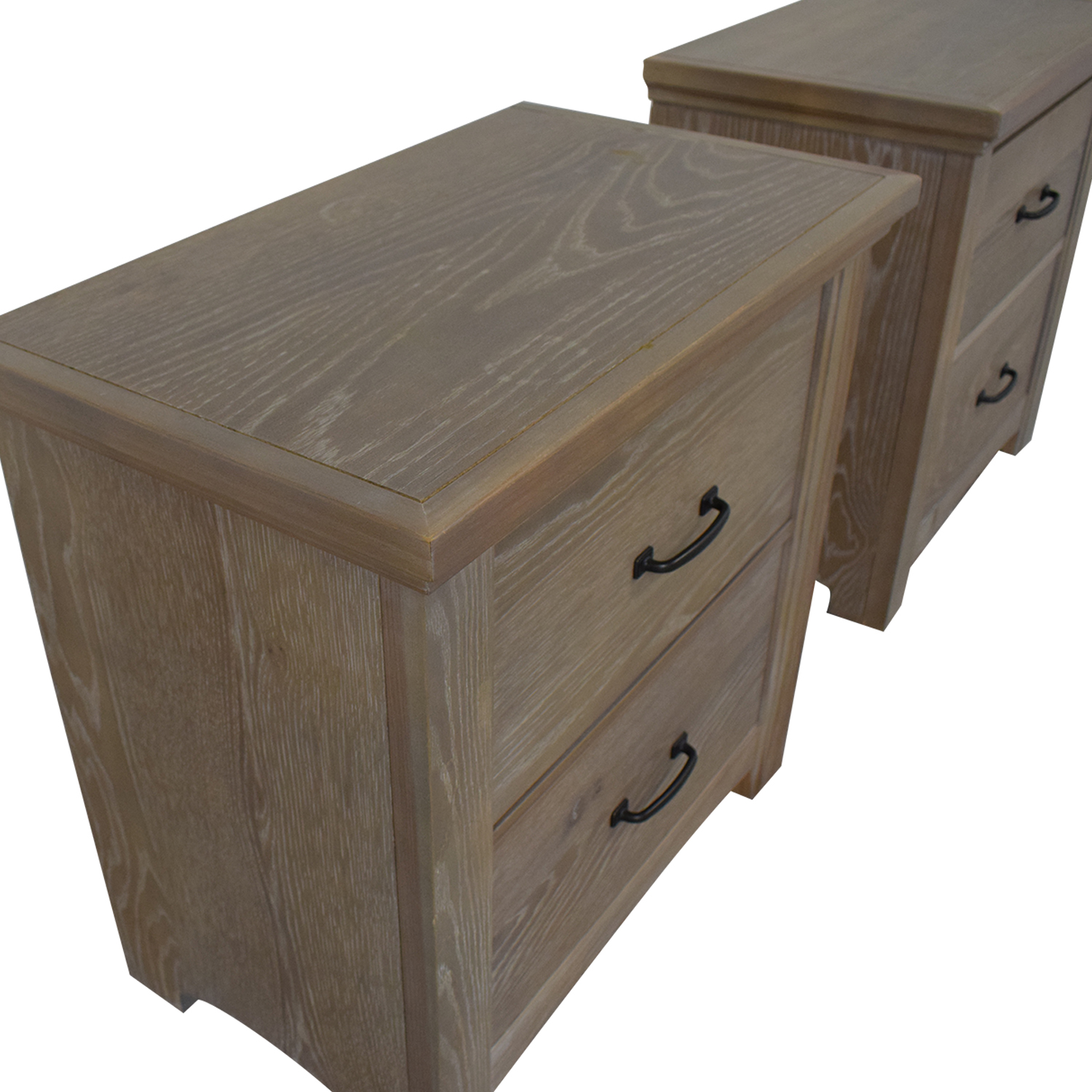 shop Vaughan-Basset Transitions Two Drawer Nightstands Vaughan-Bassett